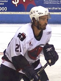 Kroll on the ice.